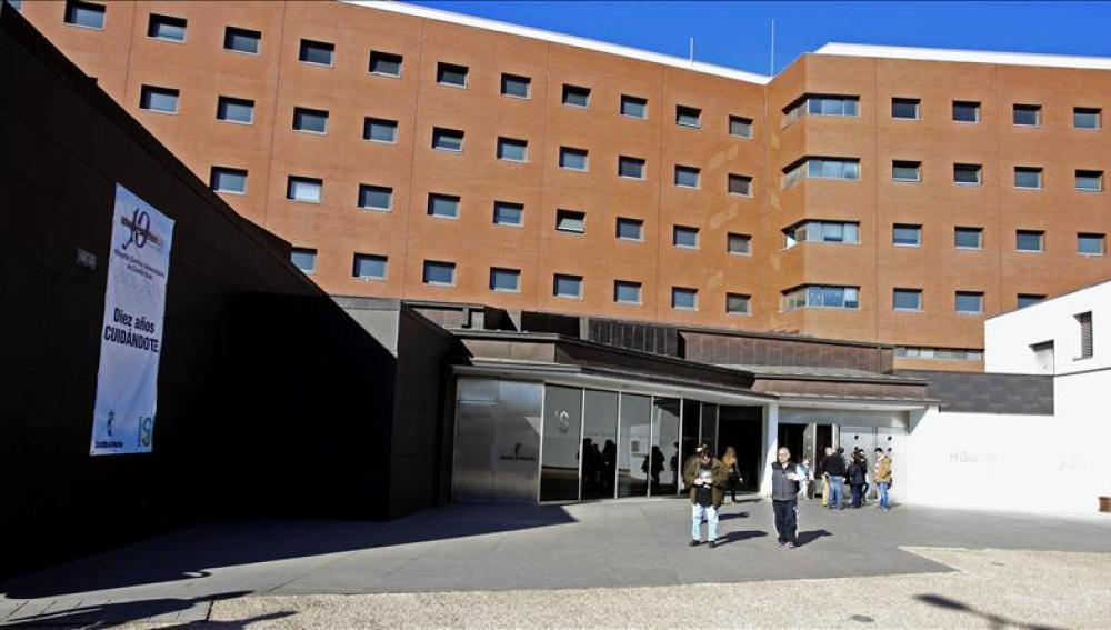 Vista del Hospital de Ciudad Real