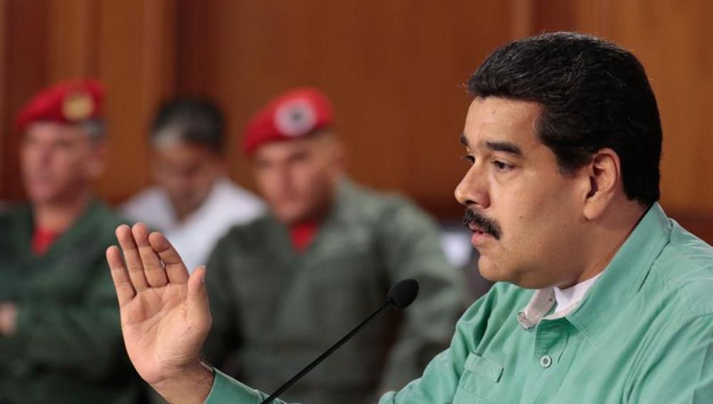 El jefe de Estado de Venezuela, Nicolás Maduro