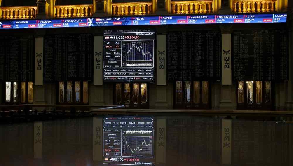 Imagen de la Bolsa de Madrid (Archivo)
