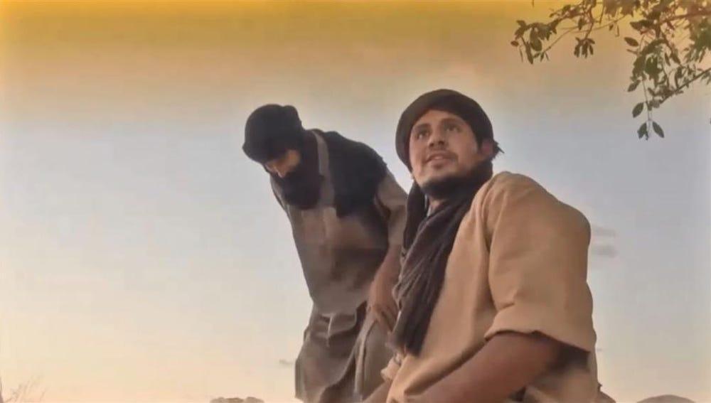 Fotograma del vídeo de Al Qaeda