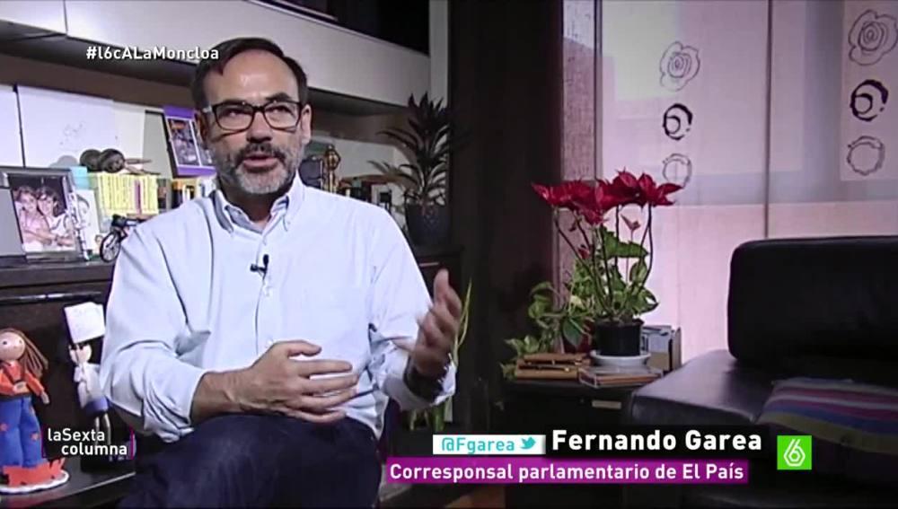 Fernando Garea, periodista de El País