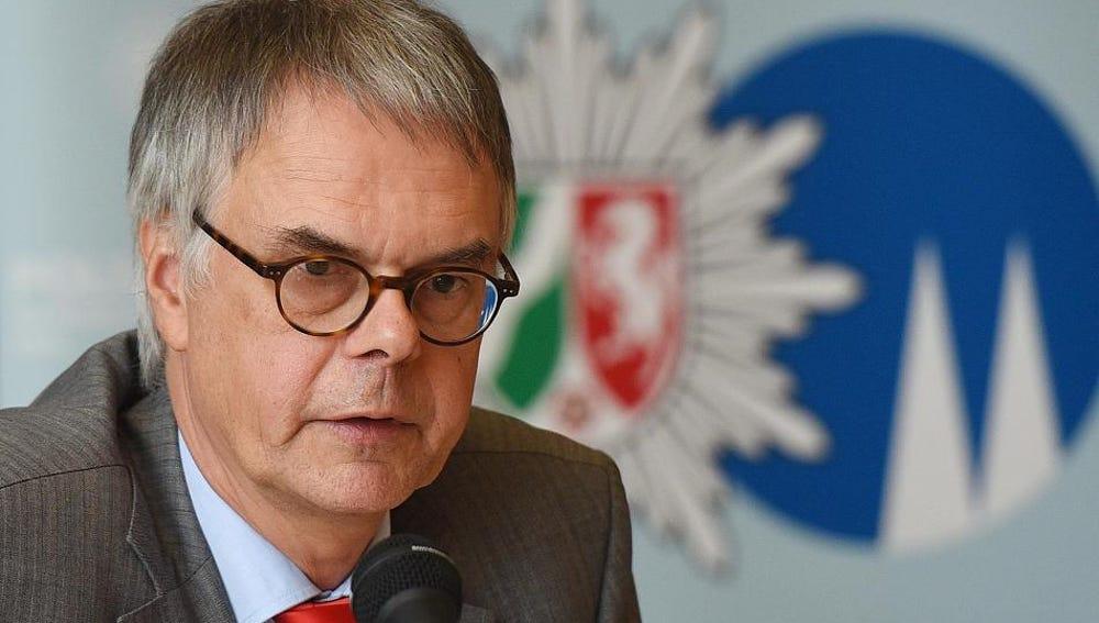 Jefe de policía de la ciudad de Colonia, Wolfgang Albers