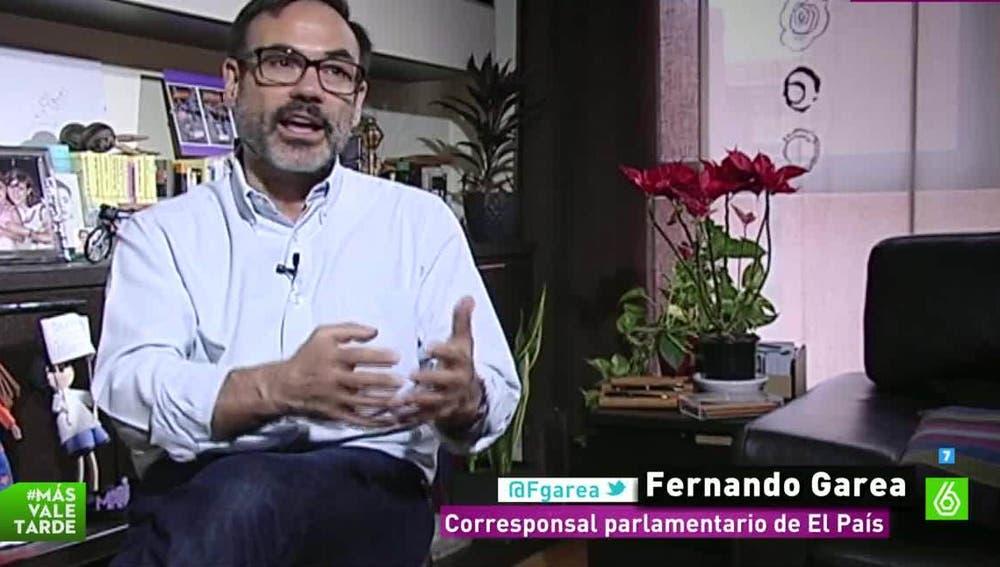 Fernando Garea, corresponsal parlamentario de El País