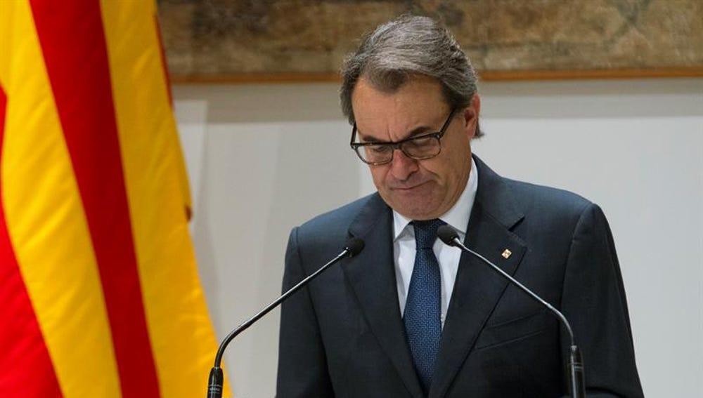 El expresidente catalán, Artur Mas