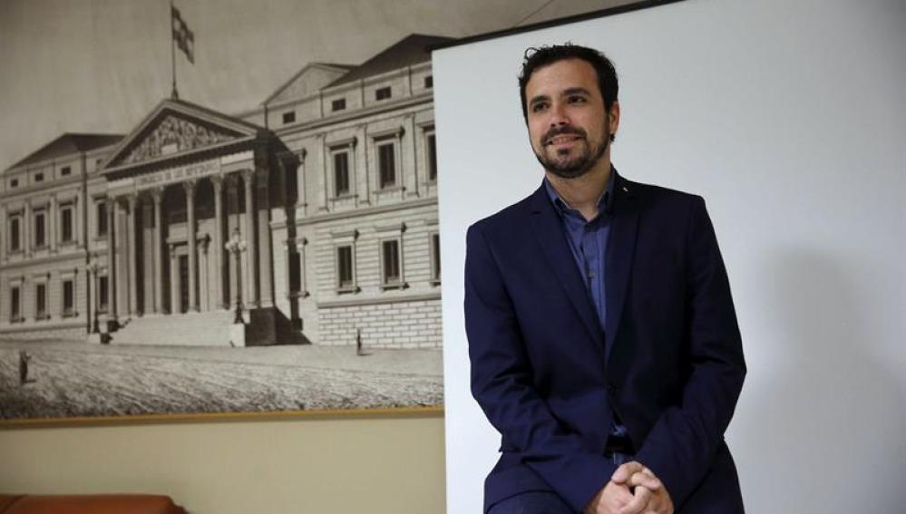 Alberto Garzón en la Cámara Baja