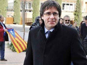 El alcalde de Girona, Carles Puigdemont