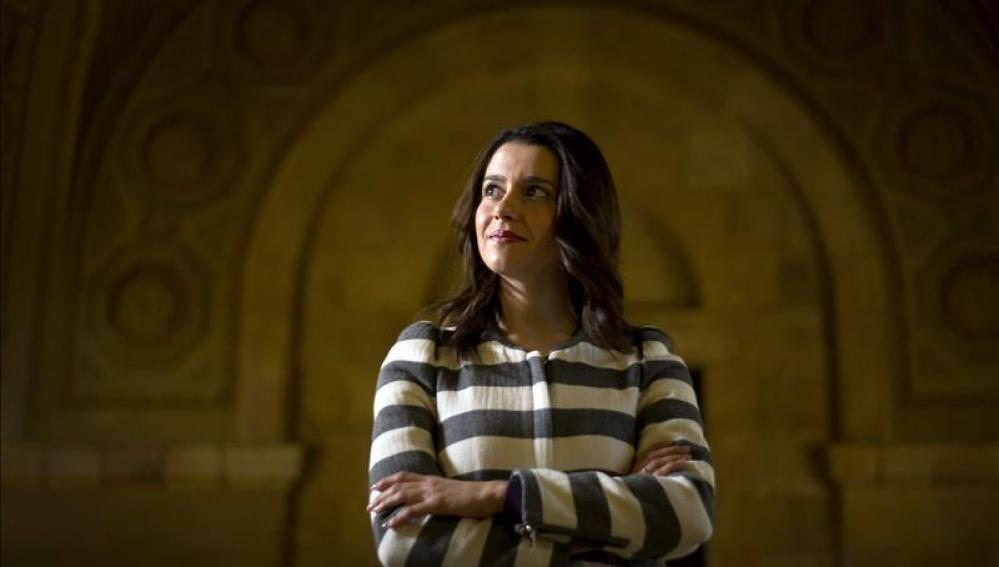 La portavoz de Ciudadanos en el Parlament, Inés Arrimadas