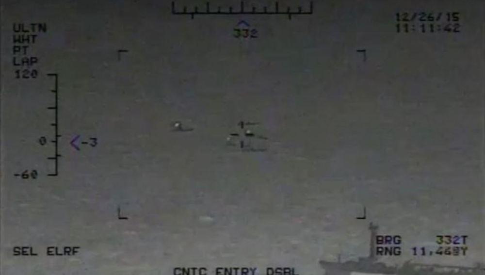 Captura del vídeo publicado por Estados Unidos