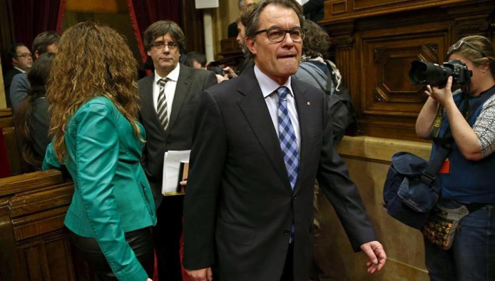 El expresident de la Generalitat