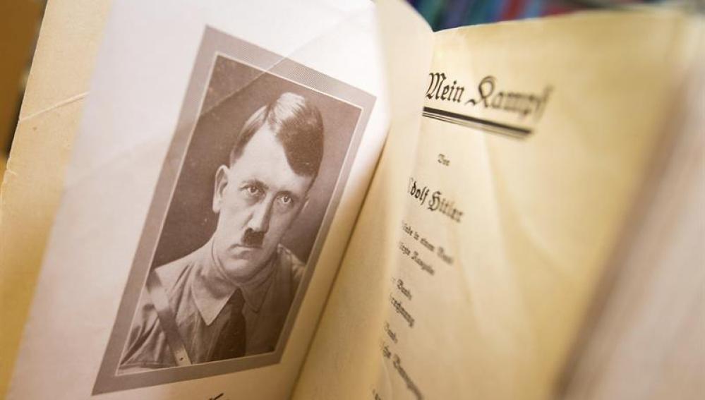 'Mein Kamp', el libro escrito por Adolf Hitler