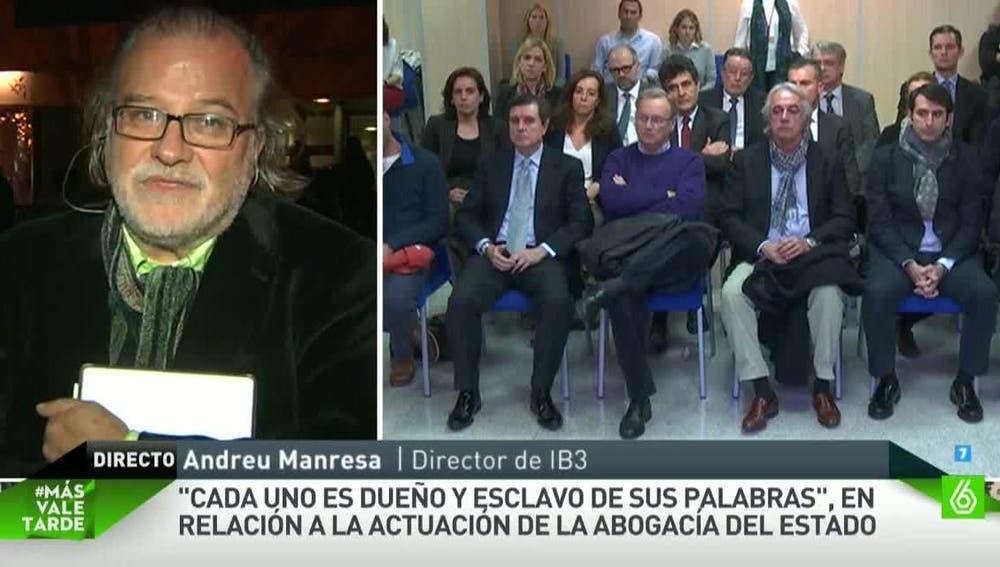 Andreu Manresa, director de IB3