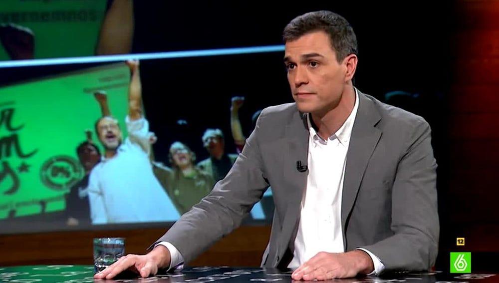 Pedro Sánchez habla sobre Cataluña