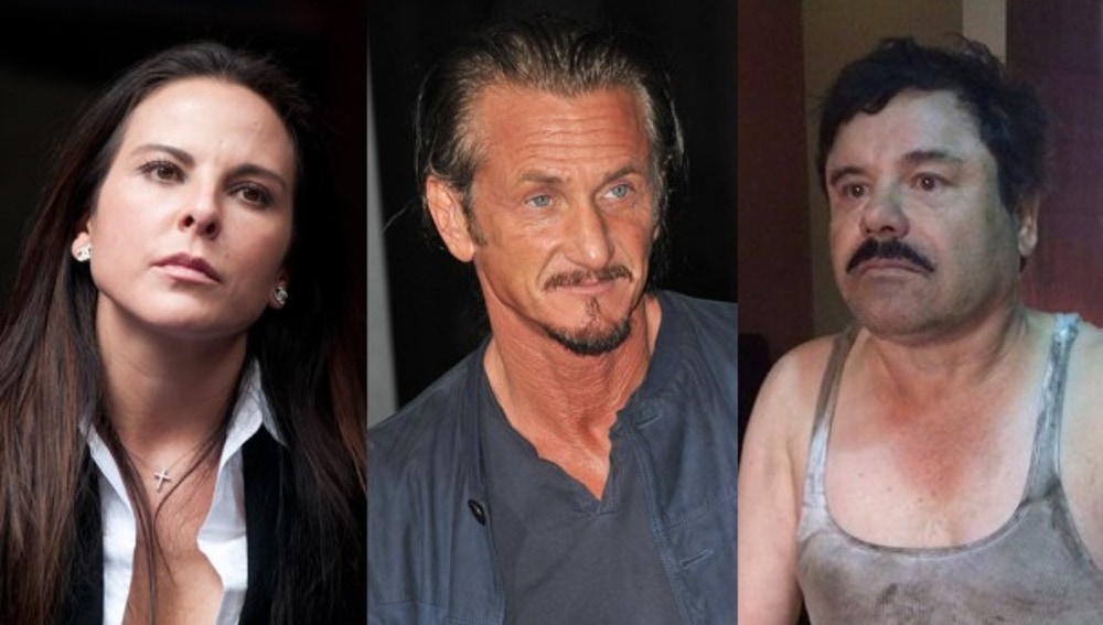 Kate del Castillo, Sean Penn y 'Chapo' Guzmán