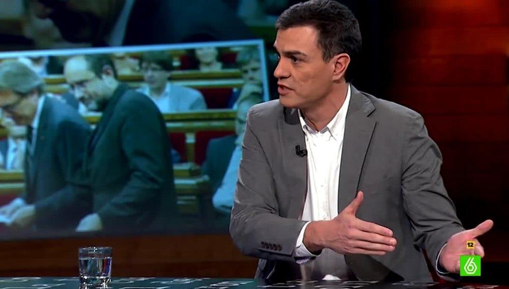 Pedro Sánchez en el Intermedio