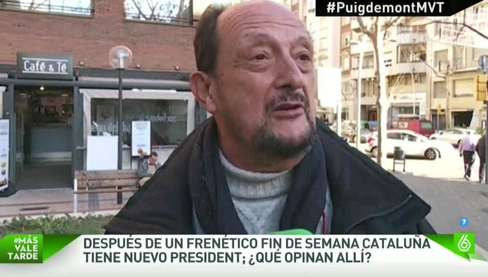Los catalanes opinan sobre su nuevo president de la Generalitat
