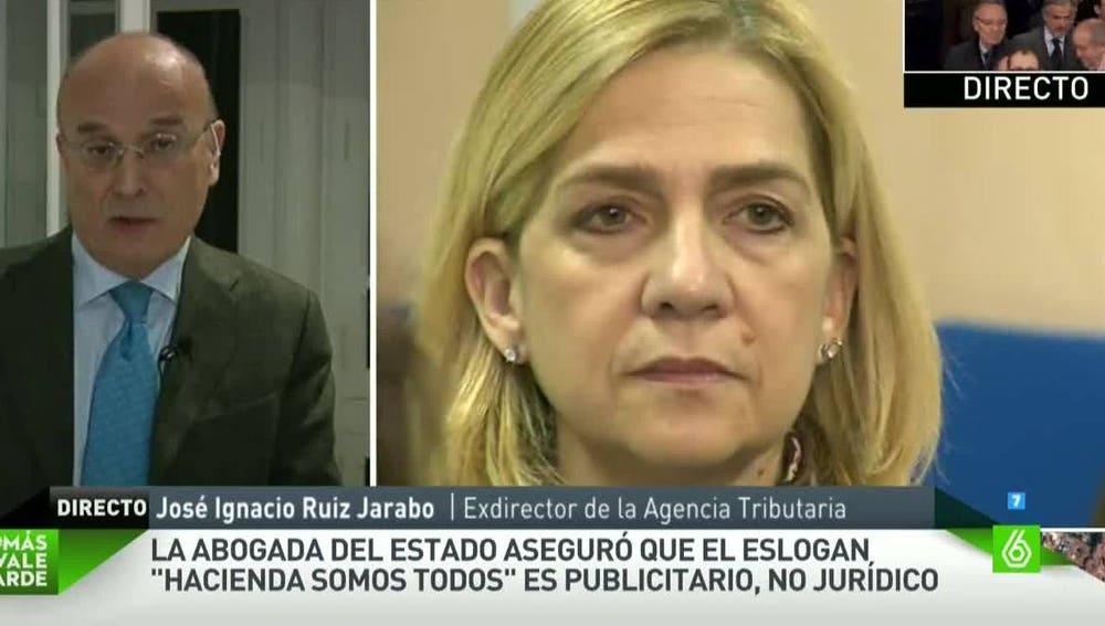 Ignacio Ruiz-Jarabo, exdirector de la Agencia Tributaria