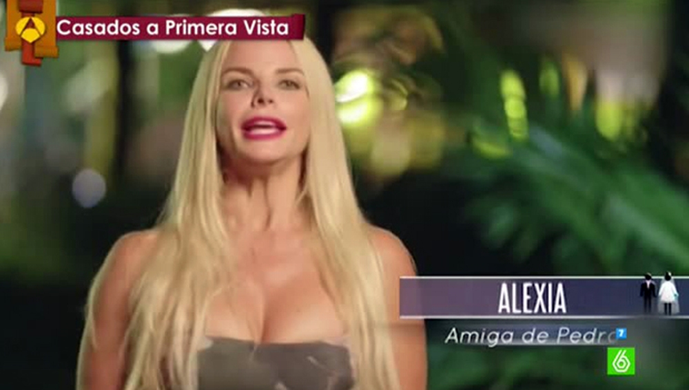 Alexia, exnovia de Pedro de 'Casados a primera vista'