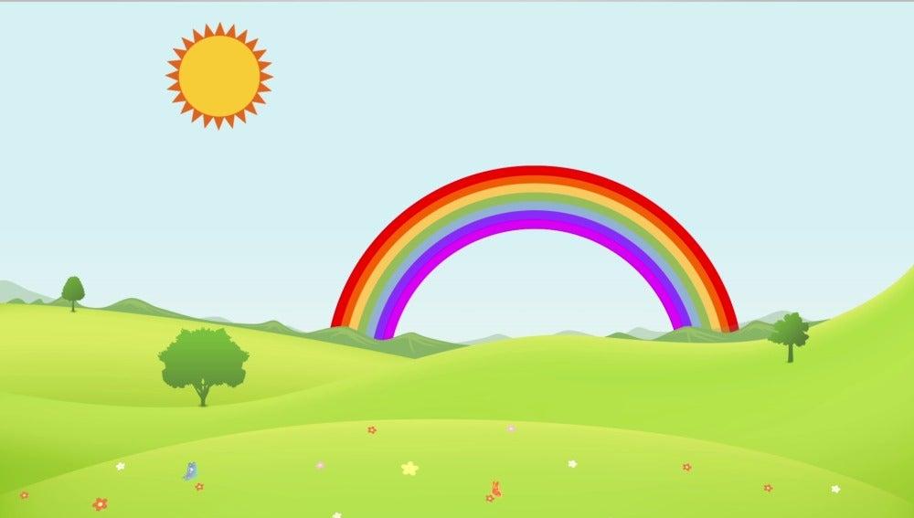 Existen doce tipos diferentes de arcoíris