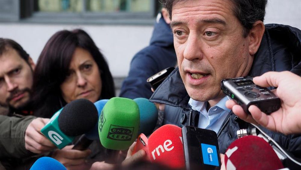 El secretario general del PSdeG, José Ramón Gómez Besteiro