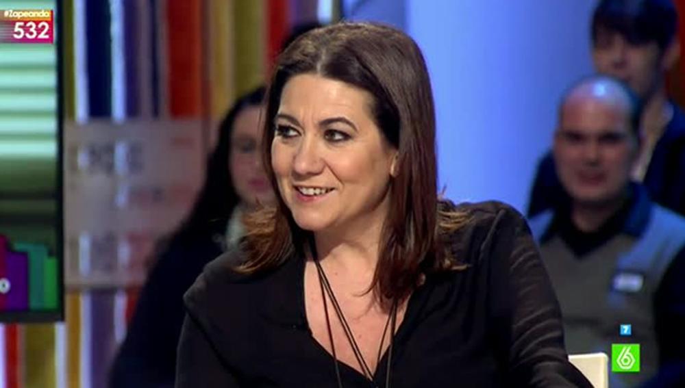 La actriz Luisa Martín visita Zapeando