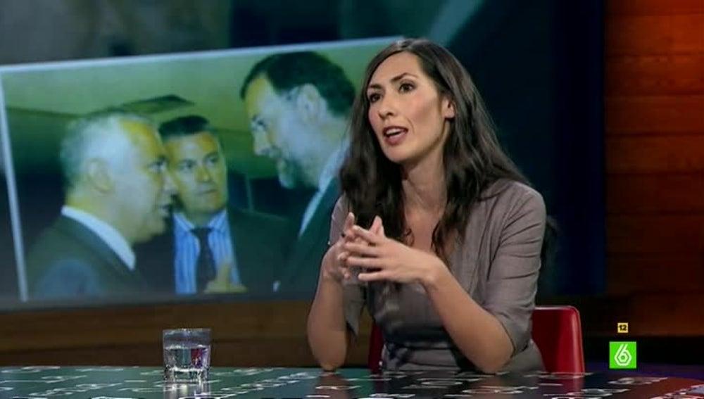 La periodista Marisa Gallero, autora de 'Bárcenas, la caja fuerte'