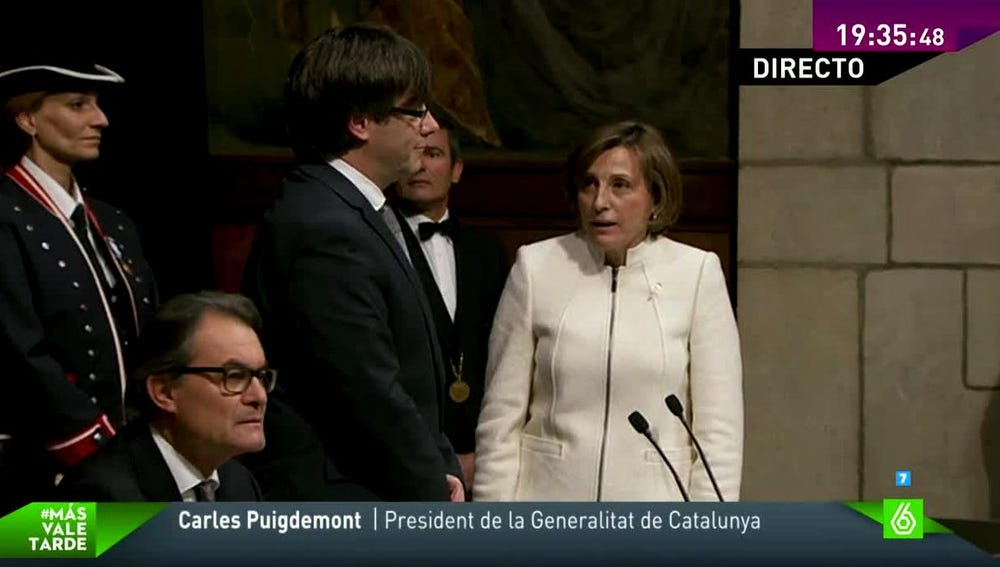 Forcadell y Puigdemont