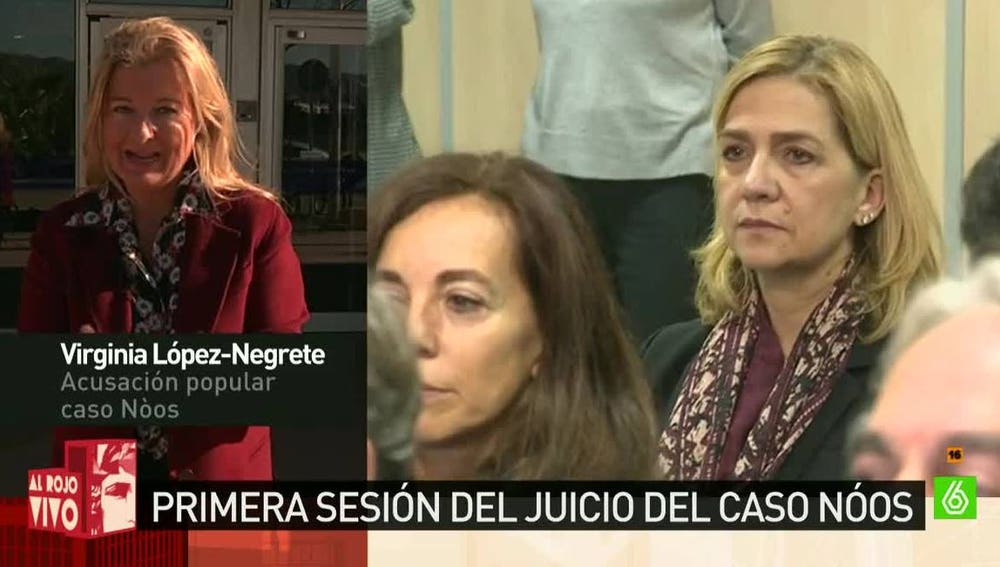 López Negrete, acusación popular en el 'caso Nóos'