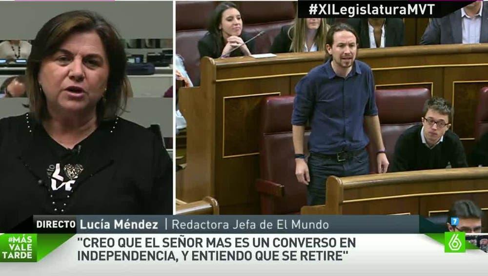 Lucía Méndez, redactora de El Mundo