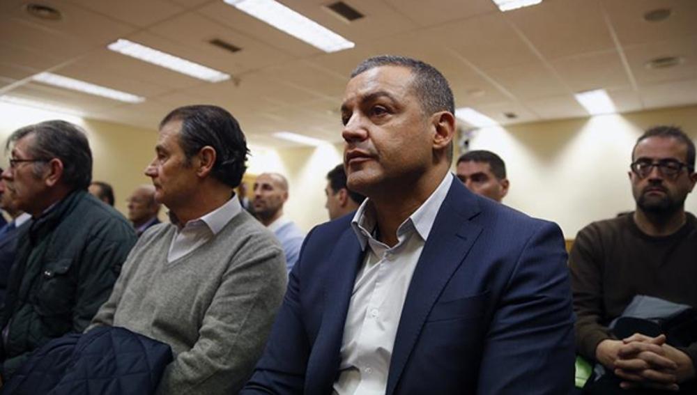 Miguel Ángel Flores en el juicio de la tragedia del Madrid Arena