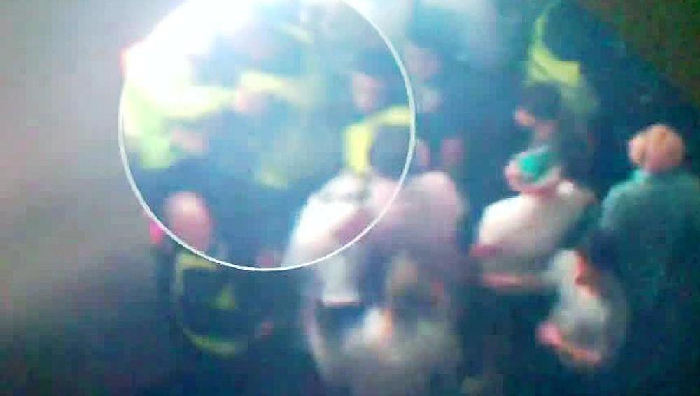 Imágenes inéditas de la tragedia del Madrid Arena