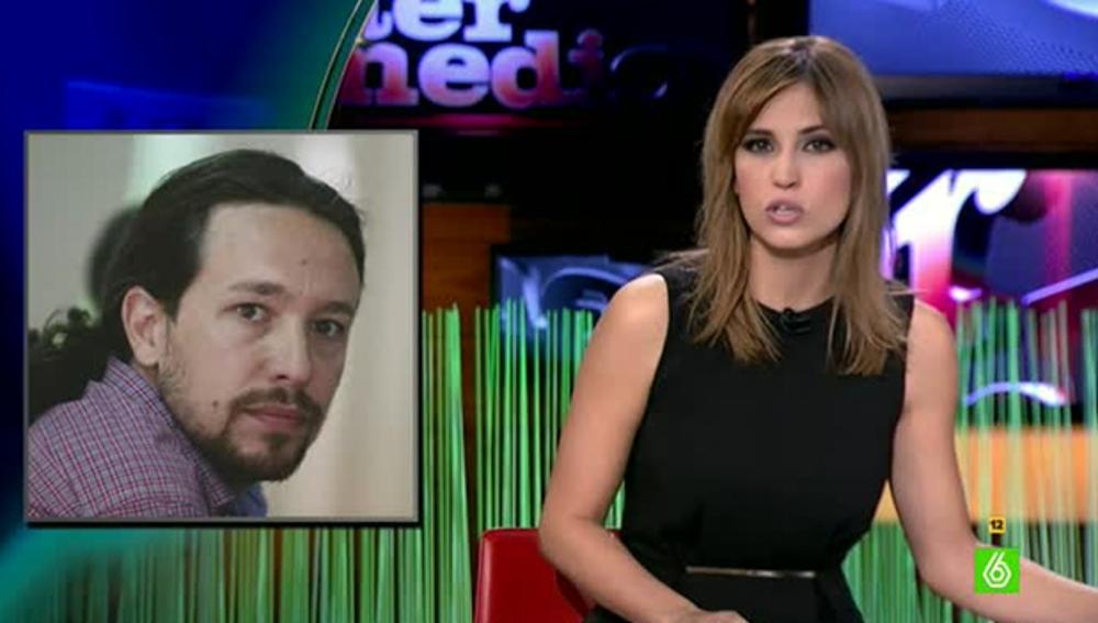 Sandra Sabatés habla del tour de indignación de Pablo Iglesias