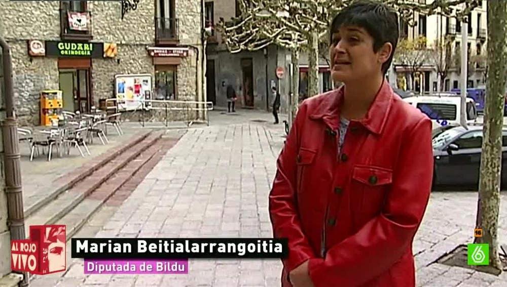 Marian Beitialarrangoitia, diputada de EH Bildu
