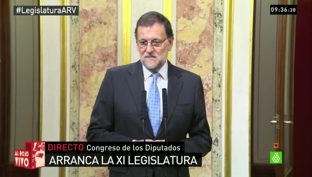 Rajoy en el congreos