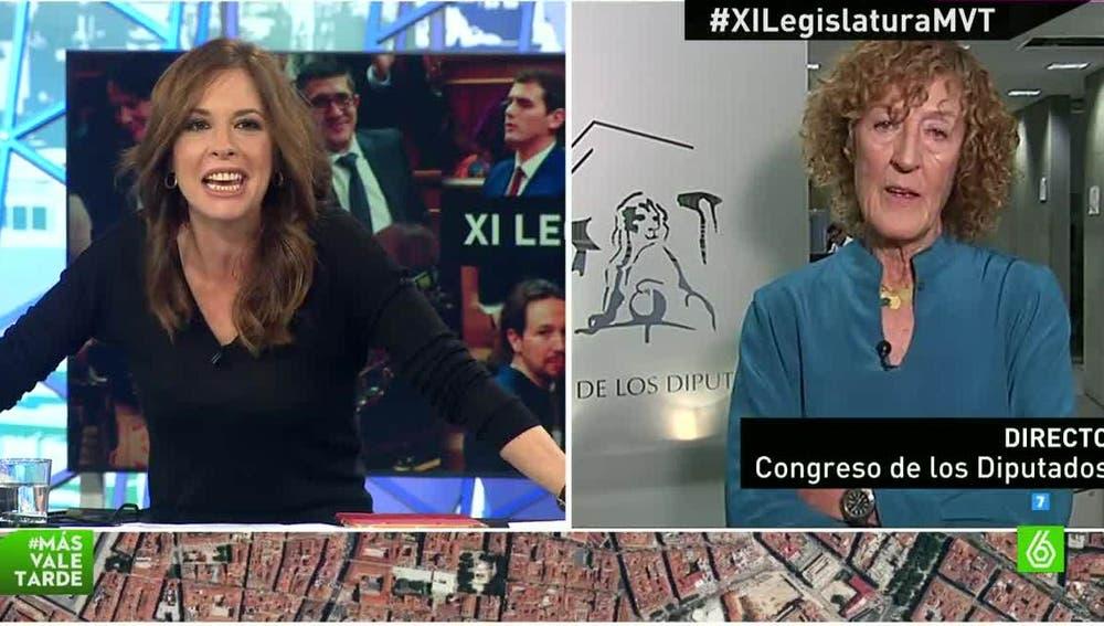 María Teresa de Lara, la diputada más veterana del Congreso