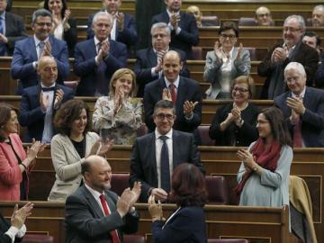 Patxi López, elegido presidente del Congreso