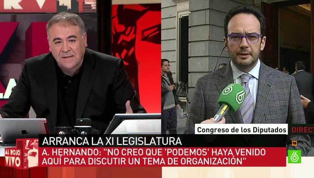 Antonio Hernando, diputado del PSOE en el Congreso