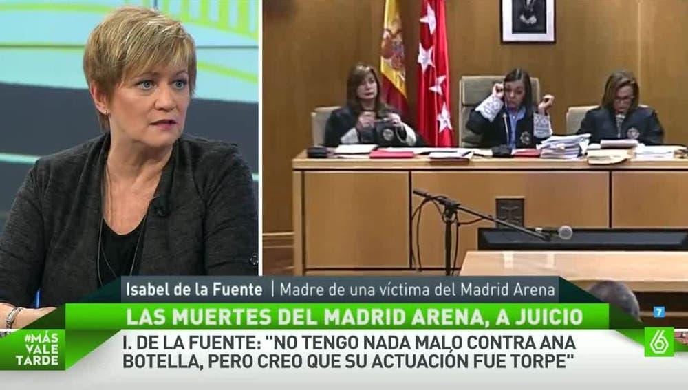 Isabel de la Fuente, Madre de una víctima del Madrid Arena
