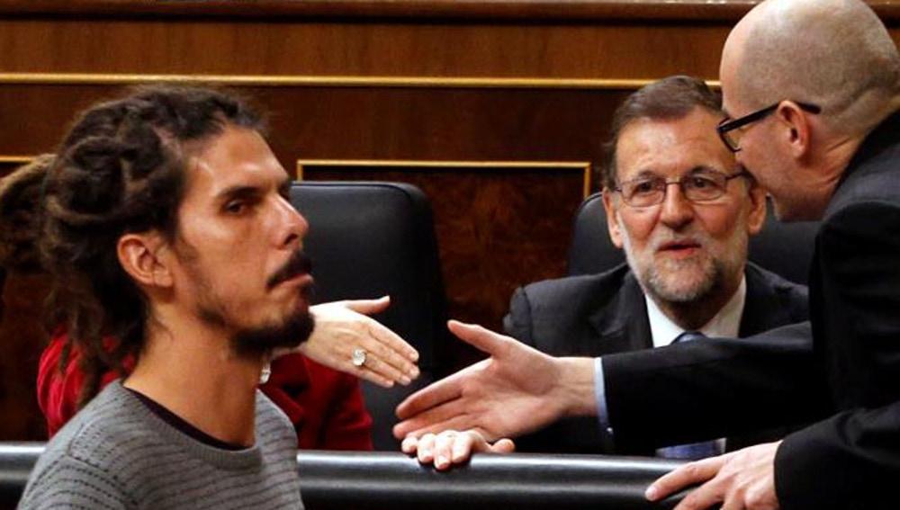 Alberto Rodríguez, número uno de Podemos por Tenerife