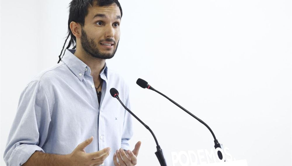 Miguel Ardanuy es diputado de Podemos en la Asamblea de Madrid