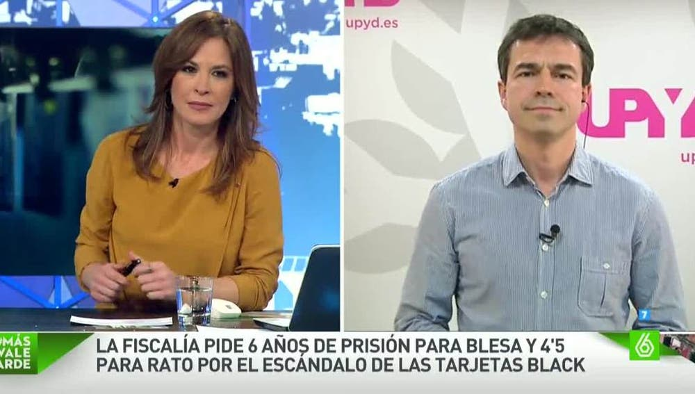 Andrés Herzog, portavoz de UPyD