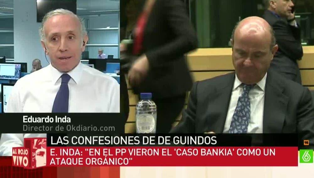 Eduardo Inda, sobre las declaraciones de De Guindos