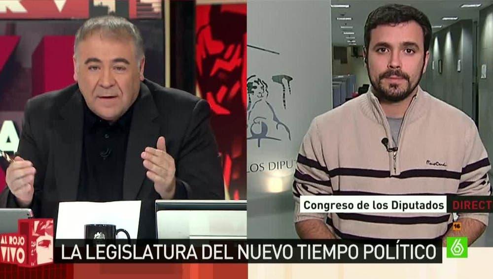Alberto Garzón, diputado de Unidad Popular-IU