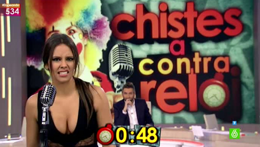 Cristina Pedroche, en una ronda rápida de Zapeando
