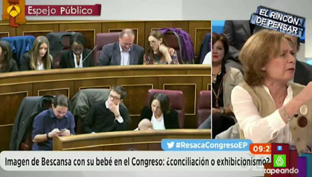 Pilar Cernuda hace unas polémicas declaraciones sobre Podemos y su higiene