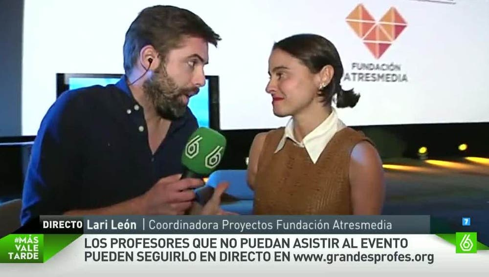 Lary León, coordinadora de Proyectos Fundación Atresmedia