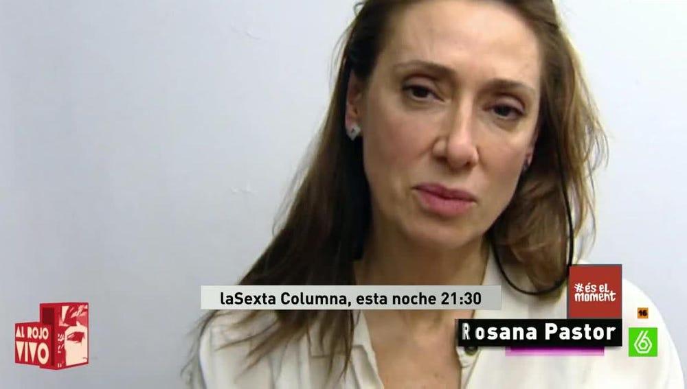 Rosana Pastor, actriz y diputada de Compromís