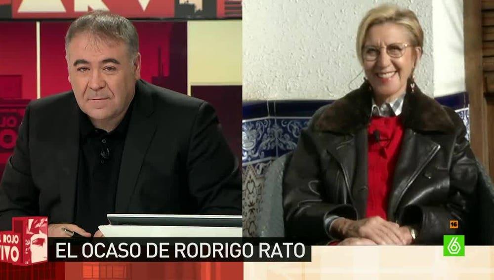 Rosa Díez, exlíder de UPyD, en Al Rojo Vivo