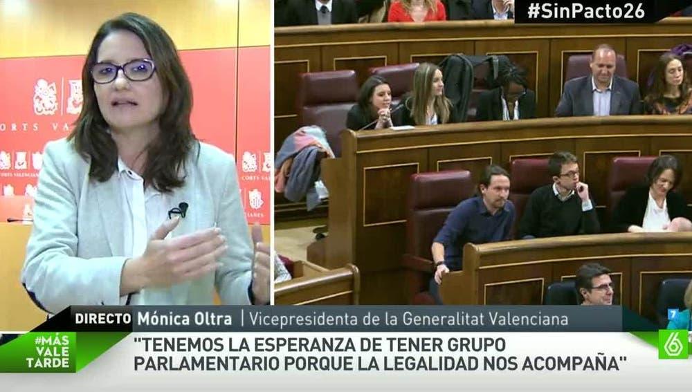 Mónica Oltra, vicepresidenta de la Generalitat Valenciana
