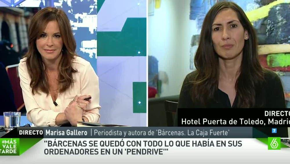 La periodista Marisa Gallero