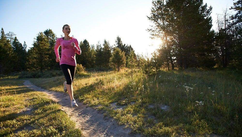 Corriendo por el campo
